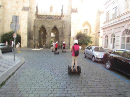 Prague Segway Tours: cruising along