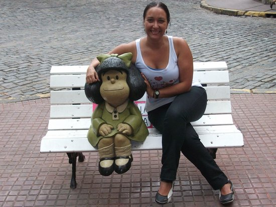 San Telmo: En Defensa y Chile con Mafalda (Paseo de la Historieta)