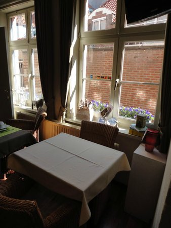 Hotel-Flats Leopold : Zona de desayuno