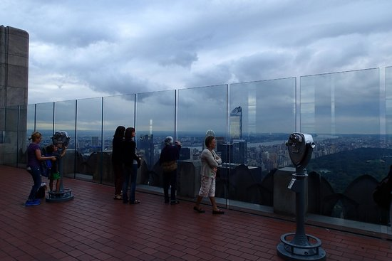 Observatorio Top of the Rock: Barely any crowds