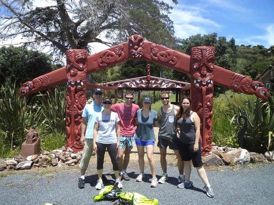 Waiheke Island, Nya Zeeland: Beautiful family group visit