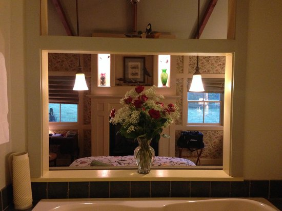 Woolverton Inn: Incredible cottage. Awesome layout!