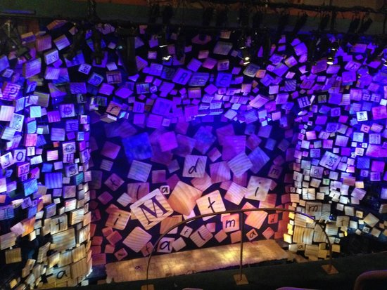 Matilda The Musical : View from Balcony C1