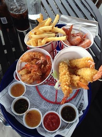 Bubba Gump Shrimp Co. : yum!