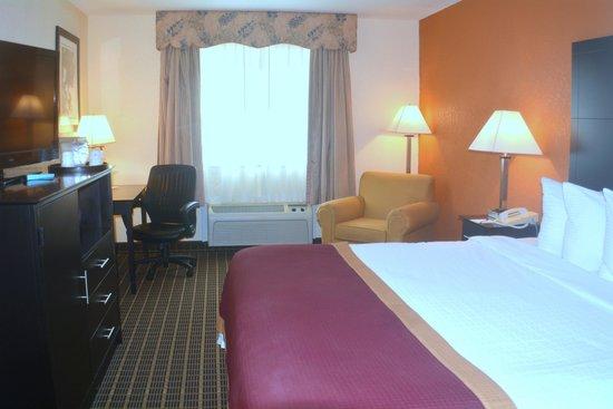 Baymont Inn & Suites Muskegon: New 1 King Bed Room