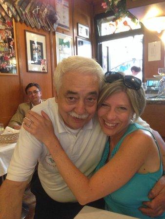Trattoria Alla Rivetta : Our waiter-loved him. Didn't speak English.