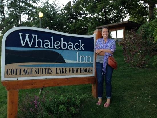 Whaleback Inn: look for their awesome sign!