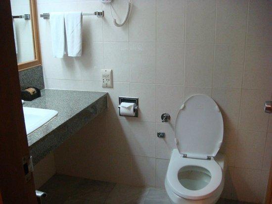 Indra Regent Hotel: Bathroom