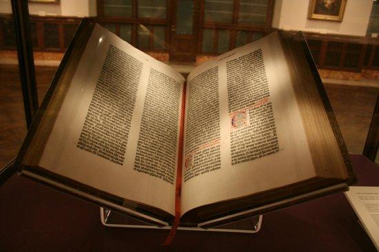 New York Public Library: Gutenburg Bible