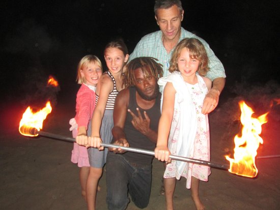 The Beach Bar: Fireshow a hit with the girls