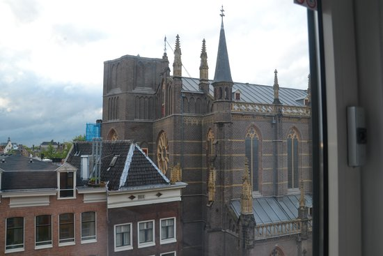 WestCord City Centre Hotel Amsterdam: View from room