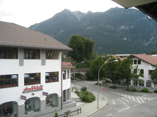 Hotel Roter Hahn: View from our room at the Roter Hahn