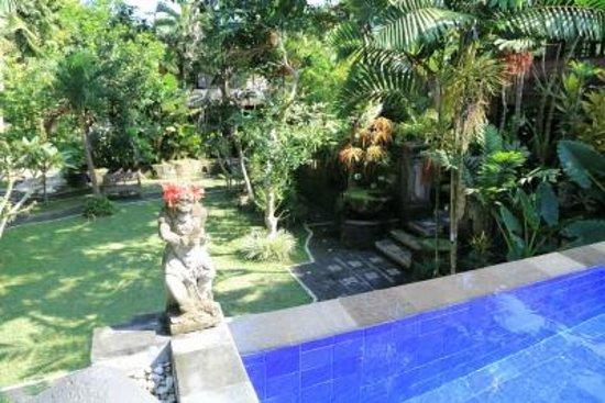 Dewangga Bungalow: プールもきれいでした。