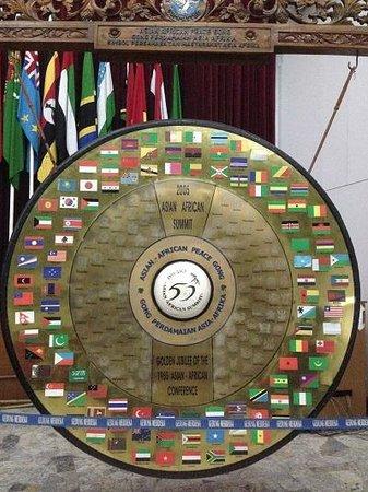 Musée de la conférence afro-asiatique : gong perdamaian