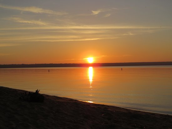Brimley State Park : Beautiful sunsets....
