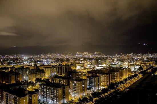 Radisson AR Hotel Bogota Airport: Vista desde el piso 20
