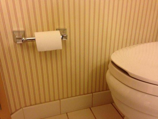 Sheraton Erie Bayfront Hotel: Knee buster