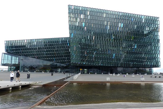 Harpa Reykjavik Concert Hall and Conference Centre: The exterior