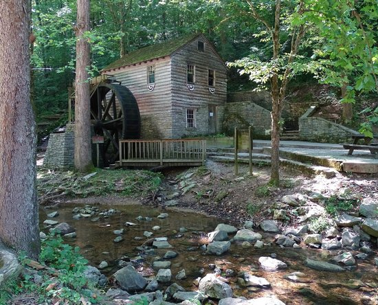 Norris Dam State Park: loved the ol mill the sound of the water was so relaxing