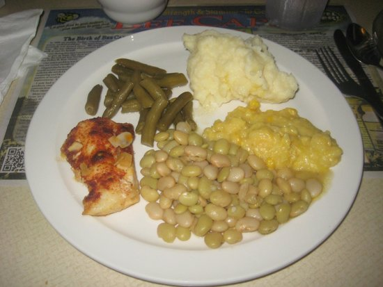 Granny's Kitchen Restaurant: Trout Almondine and Sides