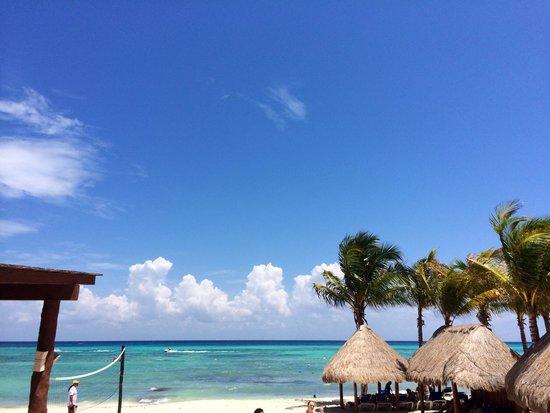 Sandos Caracol Eco Resort: Пляж отеля Сандос Караколь