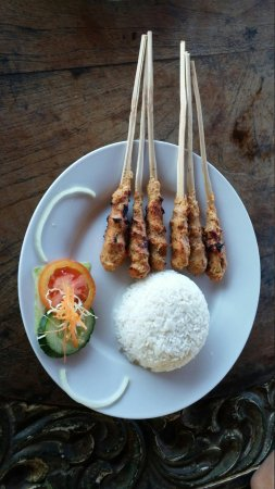 Selang Resort : Sate lilit, excellent