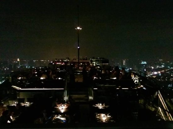 Moon Bar Bangkok : Bar view