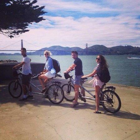 Blazing Saddles Bike Rentals and Tours : Tandem bikes