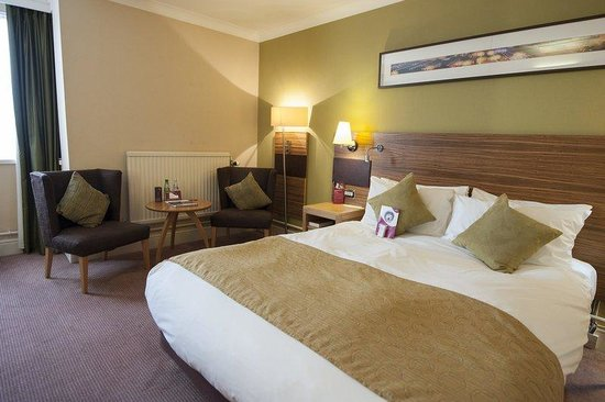 Crowne Plaza Chester: Standard Double Bed Guest Room