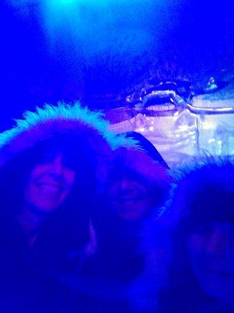 Magic Ice: furry jackets