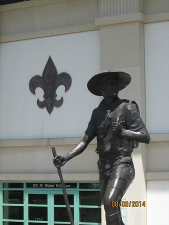 National Scouting Museum : The Lone Scout