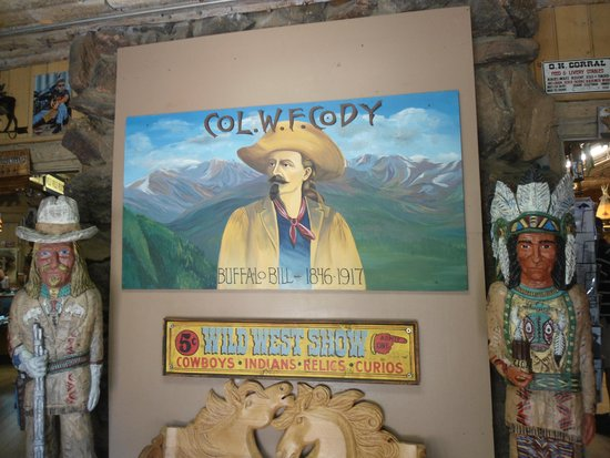 Buffalo Bill Grave and Museum: gift store