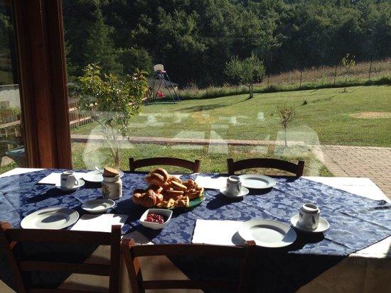 Agriturismo Ponte di Riocchio: La colazione