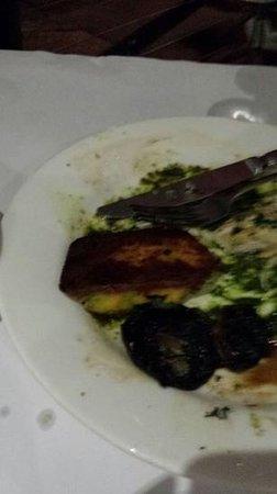 Burnt bel cibo polenta