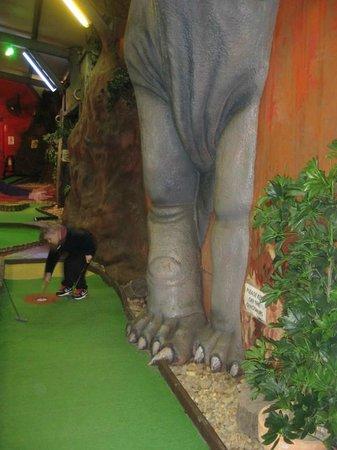 King Tutt's Putt Putt Mini Golf: .
