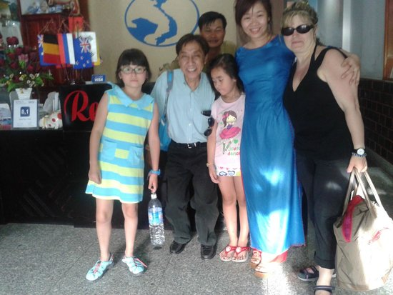 Hong Thien Hotel 1: With wonderful staff