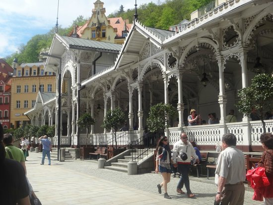 Spa Hotel Schlosspark: Колонада