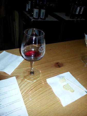 Wedmore Place: Enjoyed the wine tasting!