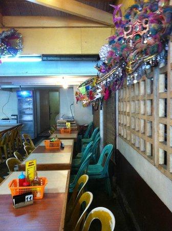 Nena's Beth at Manokan Country : Wall lined Masskara