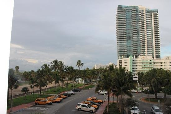 W South Beach : vue de notre suite