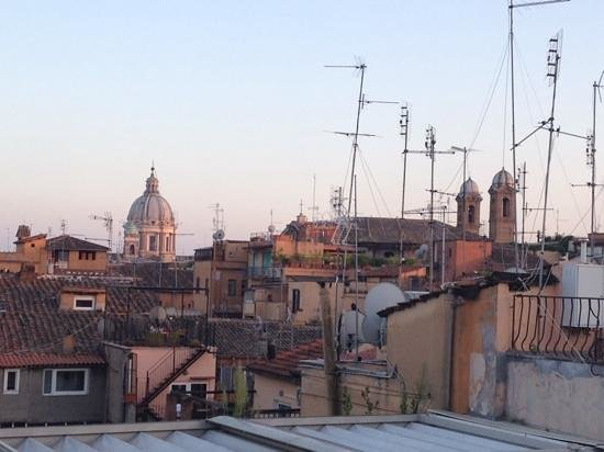 Hotel Valadier: View from the rooftop terrace at sunset