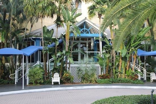 Sheraton Suites Key West : entrée