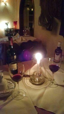 Restaurante Capivari: Jantar especial à luz de vela!