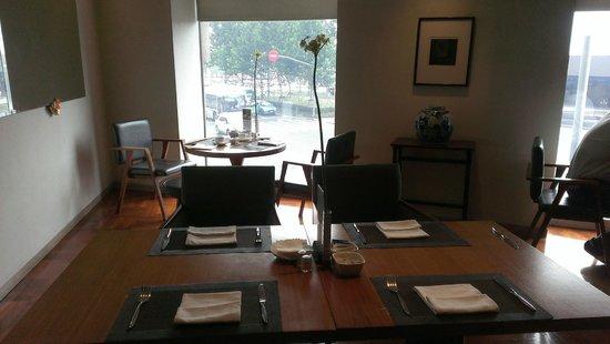 Les Suites Orient, Bund Shanghai: 優雅的用餐環境