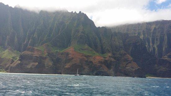 Kauai Sea Tours : Beautiful view!