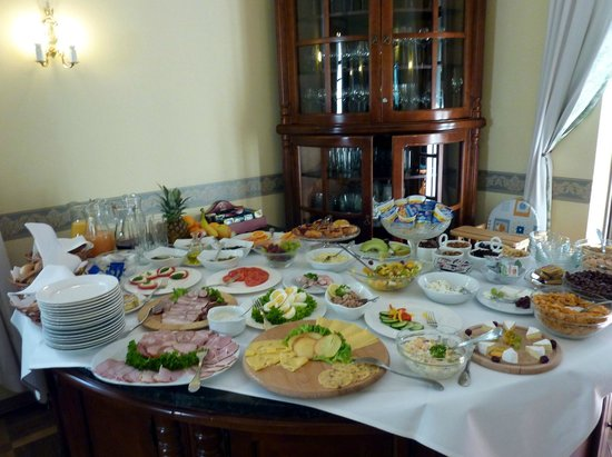 Maltański Hotel : Breakfast buffet