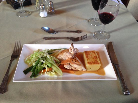The Station Hotel: Amazing food