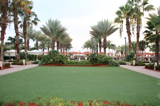 Marco Island Marriott Beach Resort, Golf Club & Spa : pas un brin d'herbe qui depasse !
