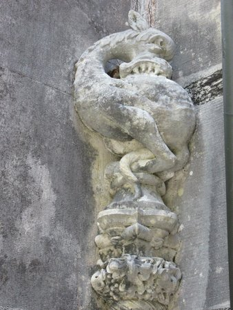 Quinta da Regaleira: Detalle de la casa