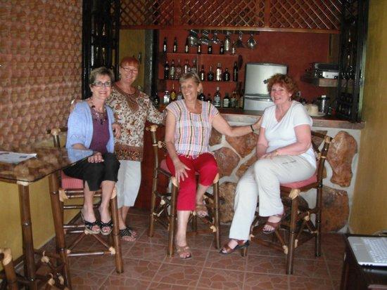 The Pickled Onion B&B / Restaurant: Enjoying a margarita at the hotel's bar